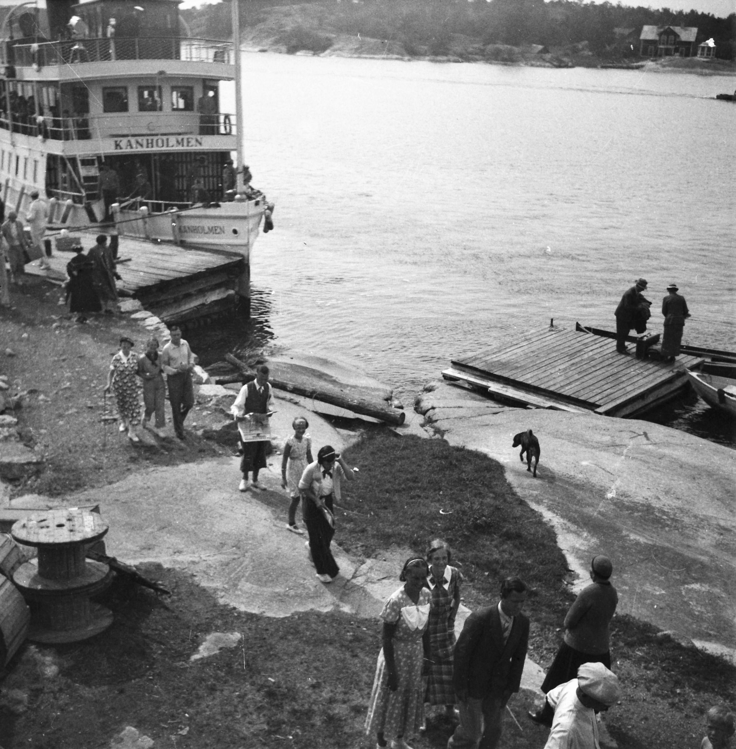 Kanholmen-1936 (foto: S-O Fredriksson)